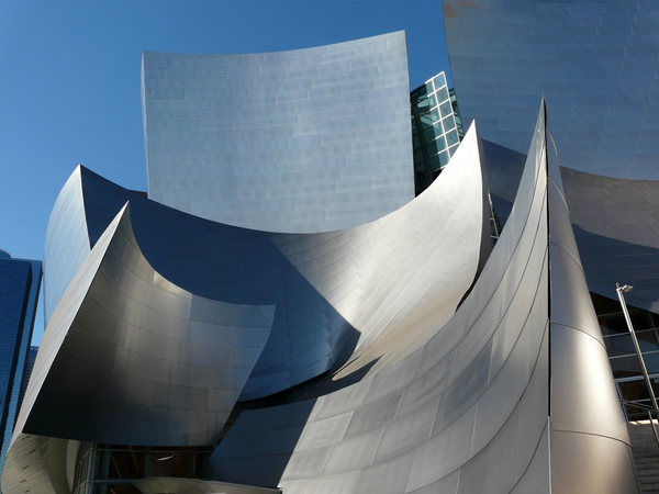 Rooftops of Disney Hall